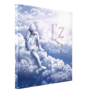 "L'z ""Thank You"" Premium Wrap Canvas 24""x24"", 1.5"" Gallery Wrapped Canvas"