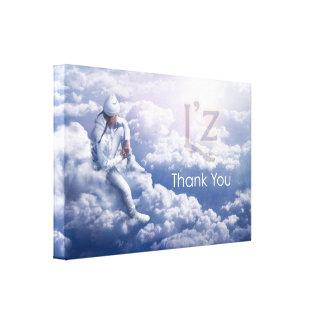 "L'z-""Thank You"" Premium Wrap Canvas 36""x24"", 1.5"" Gallery Wrap Canvas"