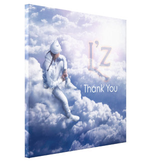 "L'z-""Thank You"" Premium Wrap Canvas 36""x36"", 1.5"" Canvas Prints"