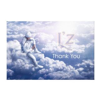 "L'z-""Thank You"" Premium Wrap Canvas 60""x40"", 1.5"" Canvas Prints"