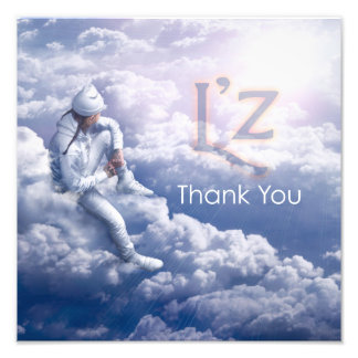 "L'z ""Thank You"" Pro Photo Print 12"" x 12"", (Satin)"