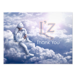 "L'z-""Thank You"" Pro Photo Print 16"" x 12"", (Satin)"