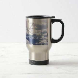 "L'z ""ThankYou"" 15 Oz Stainless Steel Travel Mug"