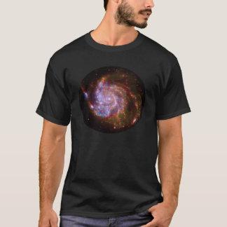 M101 Spiral Galaxy composite image shirt