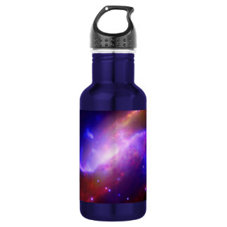 M106 Spiral Galaxy emission NASA 532 Ml Water Bottle