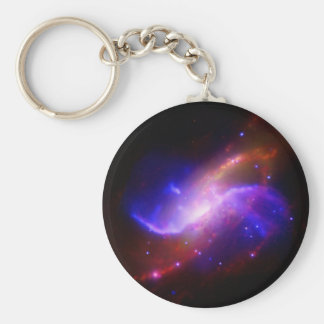 M106 Spiral Galaxy emission NASA Key Ring