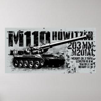 M110 howitzer Print