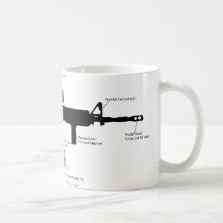 M15ak57 gun coffee mug