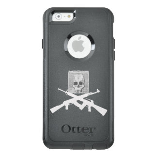M16 and AK-47 Skull and Crossbones OtterBox iPhone 6/6s Case