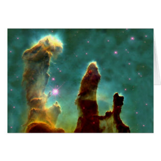 M16 Eagle Nebula or Pillars of Creation Card