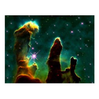 M16 Eagle Nebula or Pillars of Creation Postcard