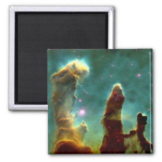 M16 Eagle Nebula or Pillars of creation Square Magnet