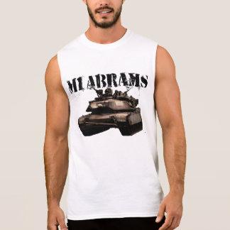 M1 Abrams Sleeveless Shirts
