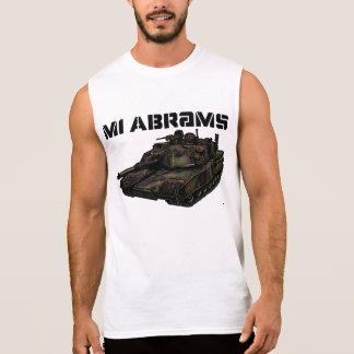 M1 Abrams Sleeveless Tees