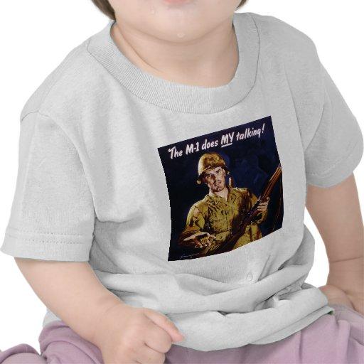 M1 Talking Poster Shirt