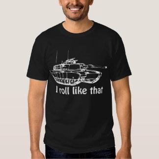 M1 Tank on Dark T-Shirt