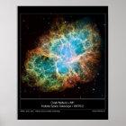 M1 the Crab Nebula Poster
