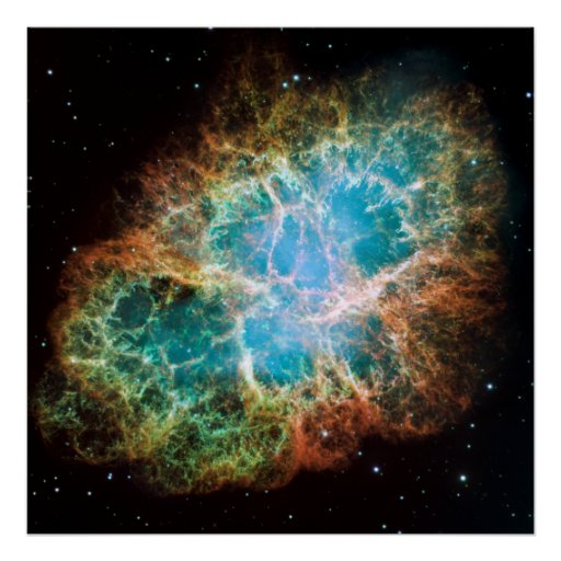 M1-The Crab Nebula Poster