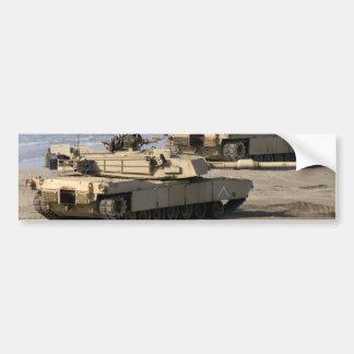 M1A1 Abrams Tank Bumper Sticker
