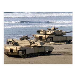 M1A1 Abrams Tank Postcard