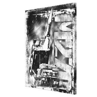 M270 MLRS Stretched Canvas Print