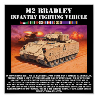 M2 Bradley Infantry Fighting Vehicle Print