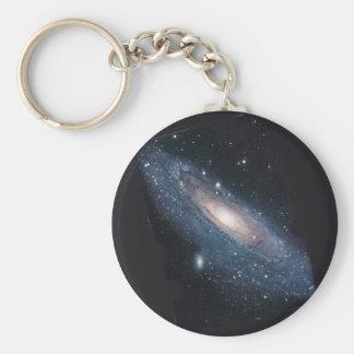 M31 Andromeda Galaxy Key Ring