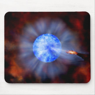 M33 Black hole in space Mousepads