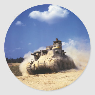 M3 Lee Tank in Training Exercises at Fort Knox Stickers