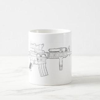 M4 SOPMOD Color changing mug