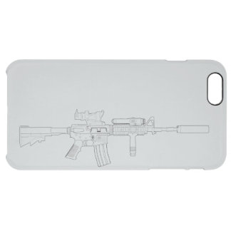M4 SOPMOD iPhone Clearly There Case