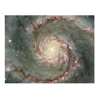 M51 Cosmic Whirpool Post Card