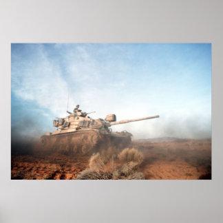M60 Patton Tank Poster