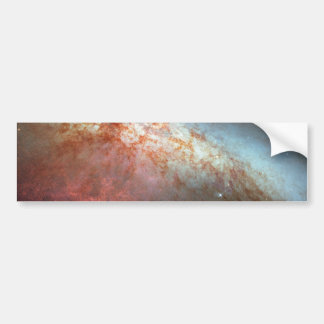 M82 Hubble Mosaic with 2014 Supernova Bumper Stickers