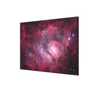 M8, The Lagoon Nebula in Sagittarius Canvas Print
