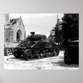 M-4 Sherman Poster
