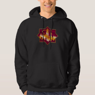 M.A.C.U.S.A. Graphic Badge Hoodie