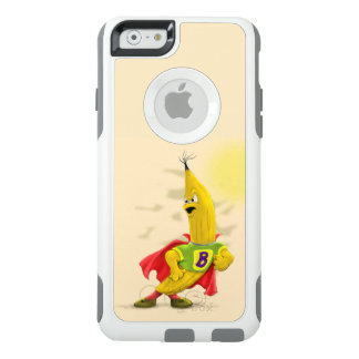 M.BANANA ALIEN  Apple iPhone 6/6s   CS WHITE
