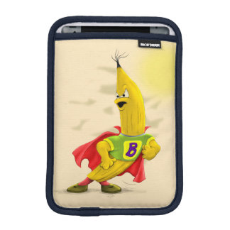 M.BANANA ALIEN CARTOON IPAD MINI Horiszontal iPad Mini Sleeve