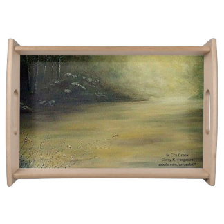 M.C.'S CREEK SMALL SERVING TRAY
