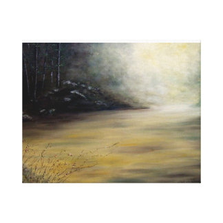 "M.C.'S CREEK WRAPPED CANVAS PRINT"" GALLERY WRAPPED CANVAS"