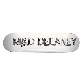 M&D Bare Wood Delaney Skate Boards