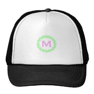 M Heart Garland Cap