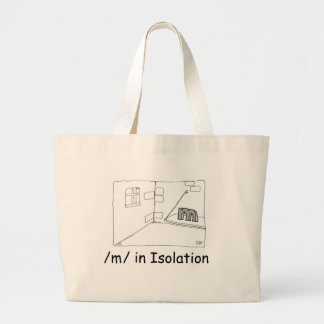 M In Isolation Tote Bag