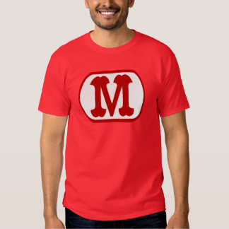 M In Oval Icon (Mario) Tees