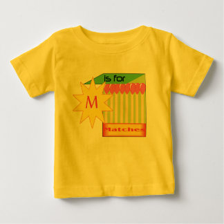 M is for Matches (2) Infant T-Shirt