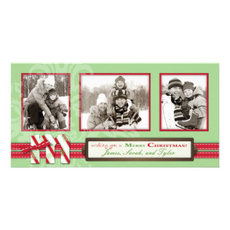 M is for Merry Photo Card Trio