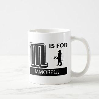 M Is For MMORPGs Coffee Mug