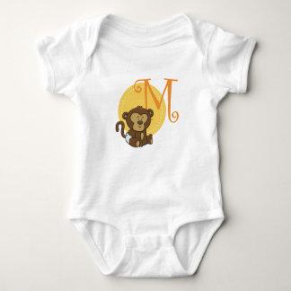 M is for Monkey Baby Bodysuit