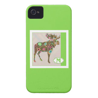 M is for Moose Blackberry Bold Cover